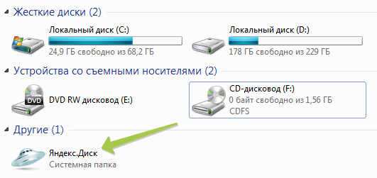 Яндекс Диск для Windows